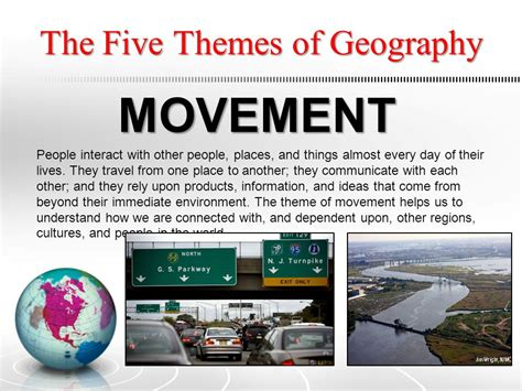 themes of geography list an overview based upon the five themes of geography ppt