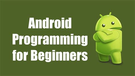 programming for android best websites to learn android programming education and