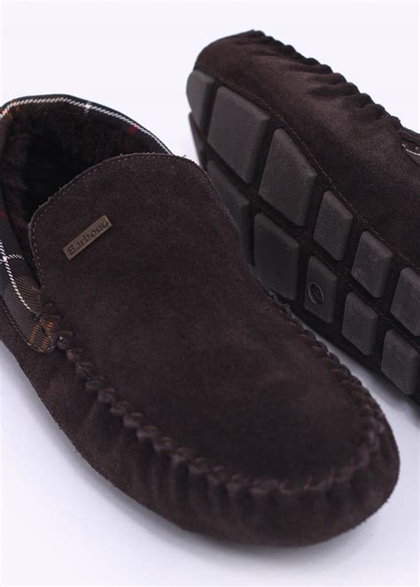 barbour slippers barbour monty slippers brown barbour from triads uk