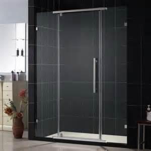 home depot pivot shower doors dreamline vitreo 58 1 8 in x 76 in frameless pivot