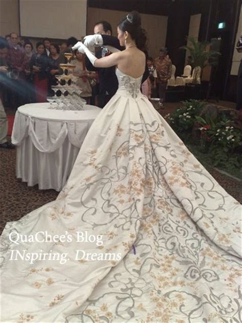 Wedding Dress Designer Indonesia by Quachee S Wedding Dress