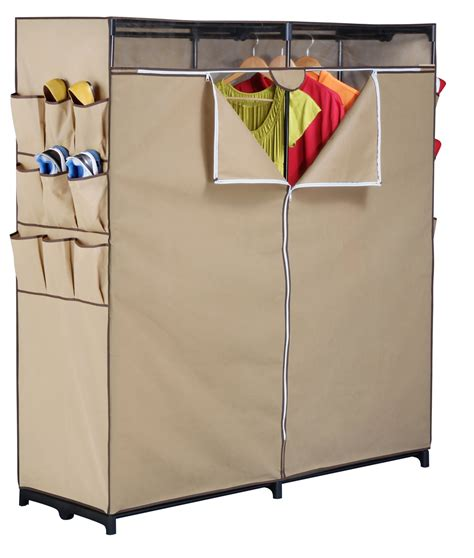 Portable Clothing Closet by Essential Home Portable Clothes Closet Home Storage