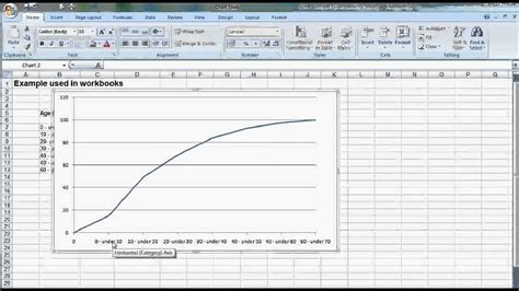 2 4 Construct Ogive With Excel Youtube | ogive mp4 youtube