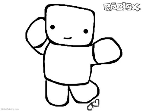 Roblox Coloring Page Free Coloring Pages