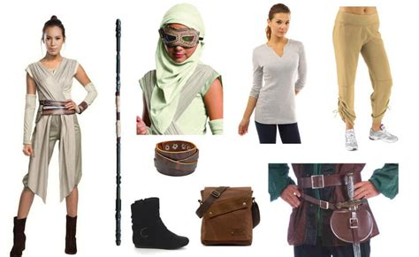 Rey Costume   DIY Guides for Cosplay & Halloween