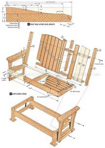 Free Plans To Build Adirondack Chairs Outdoor Glider Chair Plans Modern Patio Amp Outdoor