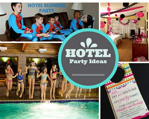 theme hotel crazy games teen party ideas birthday in a box
