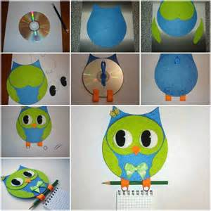 Better Homes And Gardens Craft Ideas - creative ideas diy cute owl decoration from recycled lids