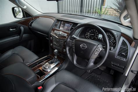 nissan patrol platinum interior 2016 nissan patrol ti v8 y62 review video