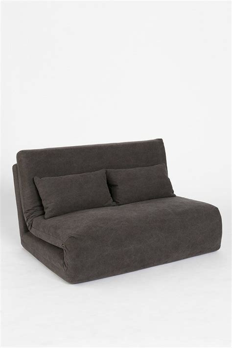 modern fold out couch folding sleeper loveseat urban outfitters sleep and