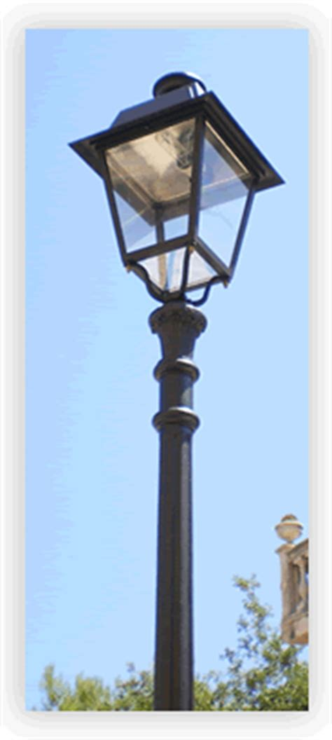 pali zincati per illuminazione illuminazione