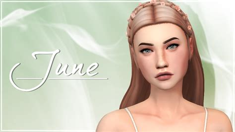 free sims 4 cc june the sims 4 create a sim cc list and sim