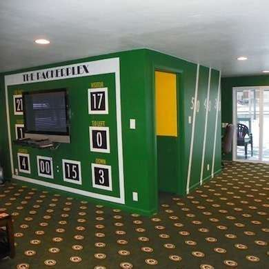 Football Room Decor by 29 Best Green Bay Packers Rooms Wo Caves Images On Bath Time Bays And