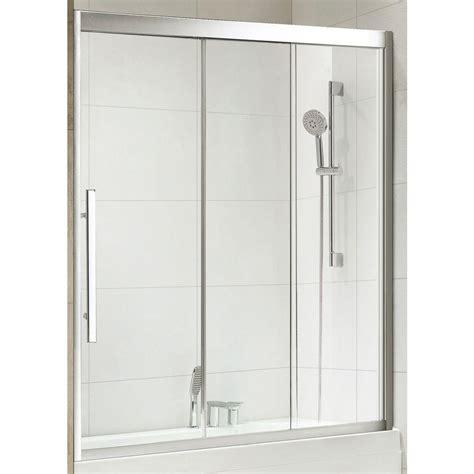 Shower Door Wheels Home Depot by Republic Torrento Premium 59 In X 58 In Framed