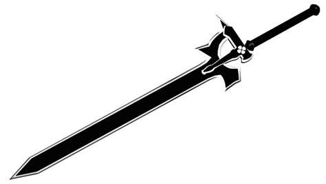 Kalung Anime Sword Sao Pedang Kirito 3 Sword Tanpa Kotak elucidator sword 3d on behance