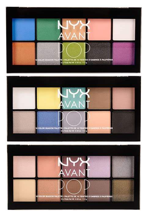 Nyx Avant Pop nyx avant pop eyeshadow palettes musings of a muse