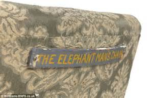 Anthony S Upholstery The Elephant Man Aka Joseph Merrick S Armchair To Be Sold