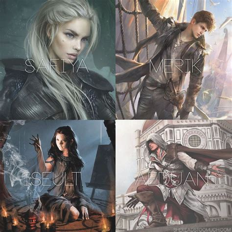 truthwitch the witchlands series truthwitch characters safiya merik iseult aeduan fantasy characters truthwitch