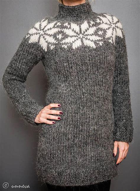 star pattern knit sweater icelandic lopi sweater big star wool knitting and stars