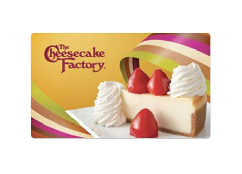 Cheesecake Factory Gift Card Discount - the cheesecake factory 2 free slices of cheesecake with 25 gc purchase nov 25 28