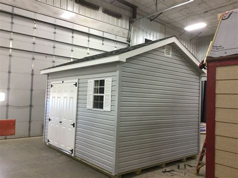 ranch style vinyl shed  sale  northland
