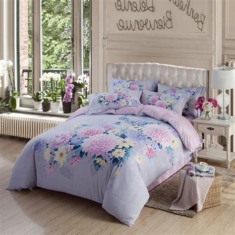 Lilac Comforter Sets by Get Cheap Lilac Bed Sheets Aliexpress Alibaba