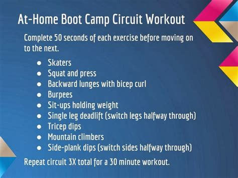boot c workout for pin by the healthy sooner on workouts