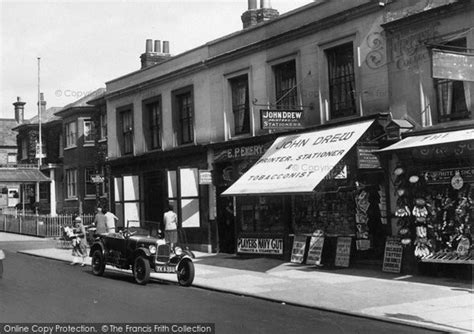 tattoo london road camberley framed canvas photo print of camberley shop in london