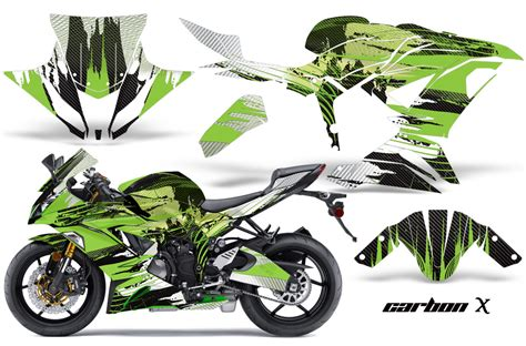 Sticker Kawasaki Ninja 300 by Ninja 636 Zx6 R Graphics Kawasaki Street Bike Graphic