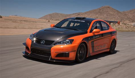 r for car lexus is f ccs r and ken gushi take test run up pikes peak