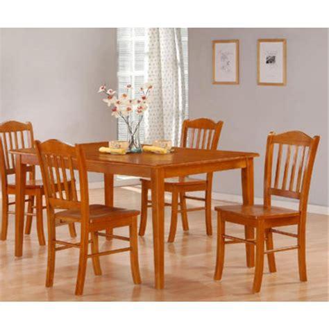 Dining Room Set Home Depot Boraam 5 Oak Dining Set 80136 The Home Depot