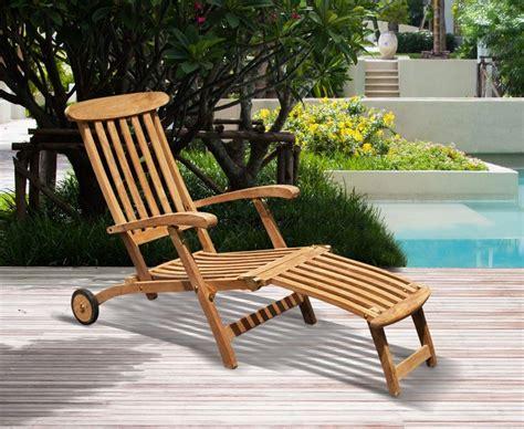 teak steamer chair fittings halo teak steamer chair with cushion wheels brass fittings