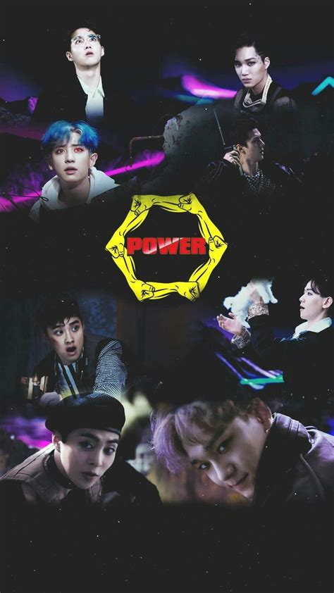 exo power exo power wallpaper exo pinterest power wallpaper