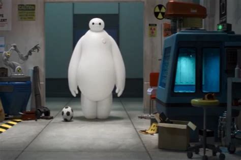 film disney robot big hero 6 trailer disney marvel s stay puft