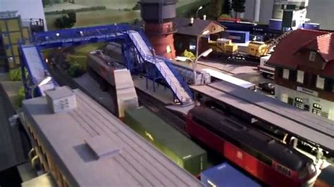 youtube h0 layout h0 ac m 228 rklin piko train action on the layout youtube