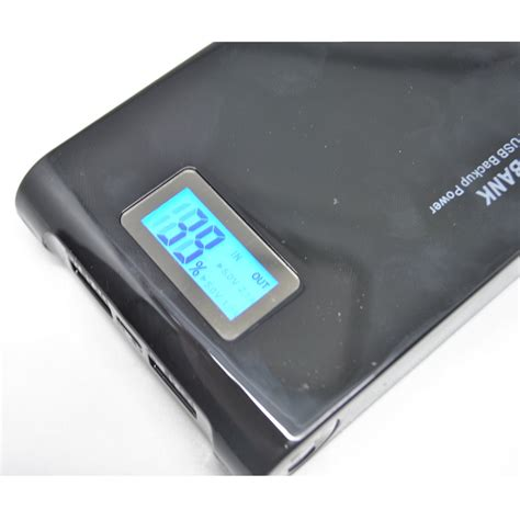 Termurah Taff Power Bank 12000mah Dual Usb Output Torc Best Seller taff power bank 12000mah 2 usb dengan senter display lcd black jakartanotebook