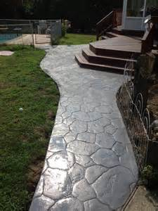 concrete walkway designs