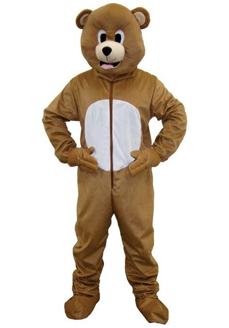 mascot costume brown mascot costume