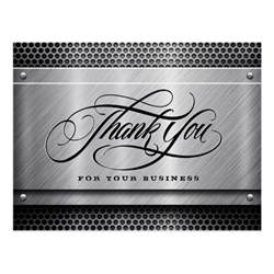thank you for your business cards thank you for your business cards postcard zazzle