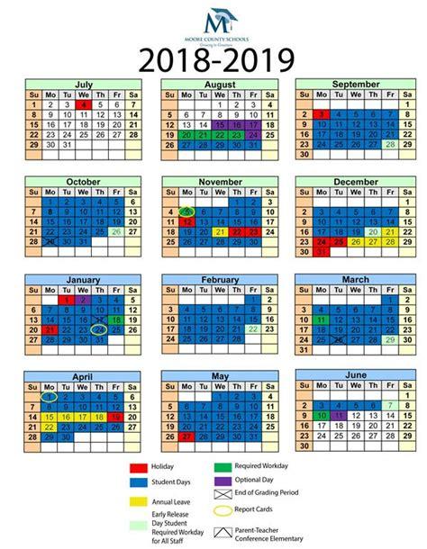 communications school calendars