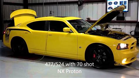 Nitrous Express Proton by Nitrous Express Proton System Dyno Pulls On Dodge Charger