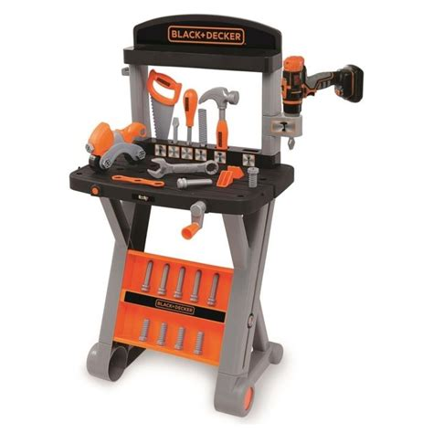 black and decker tool bench black decker workbench drill mr toys toyworld