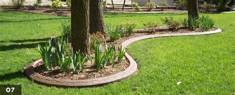 Decorative Landscape Borders by Custom Landscape Borders Maryland Curbscape