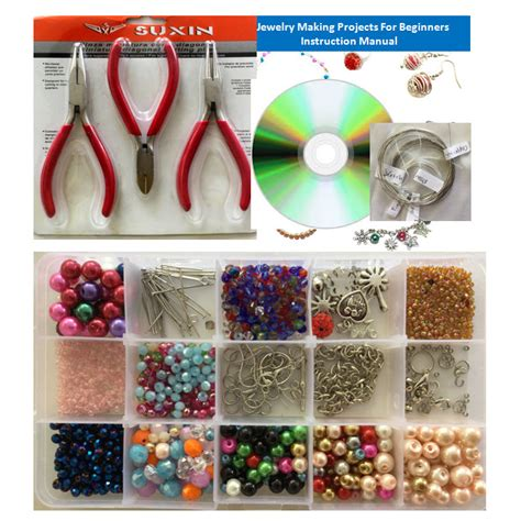 beginning jewelry kit jewelry kit for beginners with 8 jewelry
