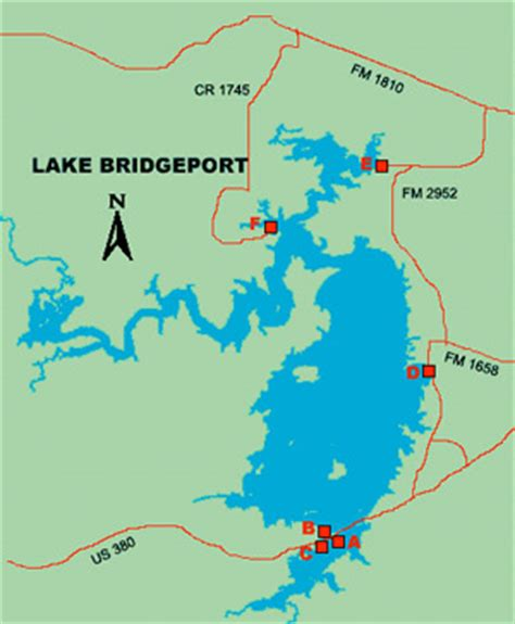 bridgeport texas map lake bridgeport lake bridgeport tx