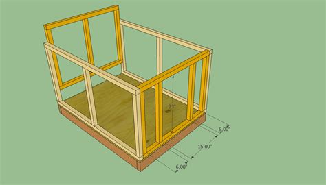 plans for dog house dog house plans free howtospecialist how to build step by step diy plans