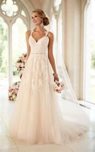 wedding dresses stella york lace illusion back wedding dress i stella york wedding dresses