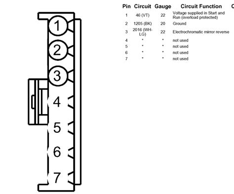ford edge rear view mirror wiring diagram ford free