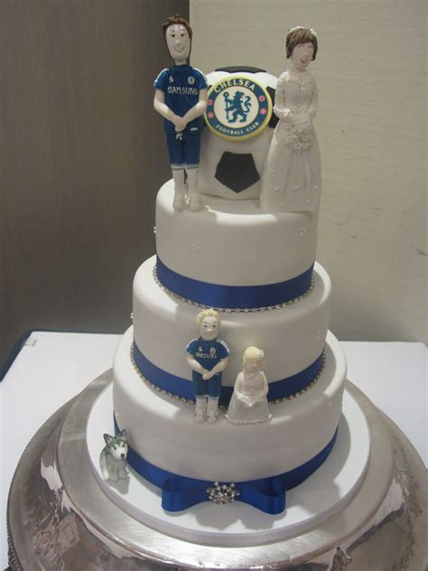 wedding cake chelsea chelsea football wedding cake delicious a cake