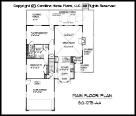 Country Style Floor Plans cabin tiny house inside 1300 square foot floor plans